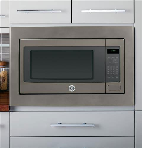 ge profile peb7226ehes front view ge profile peb7226ehes built in view - Countertop Microwave