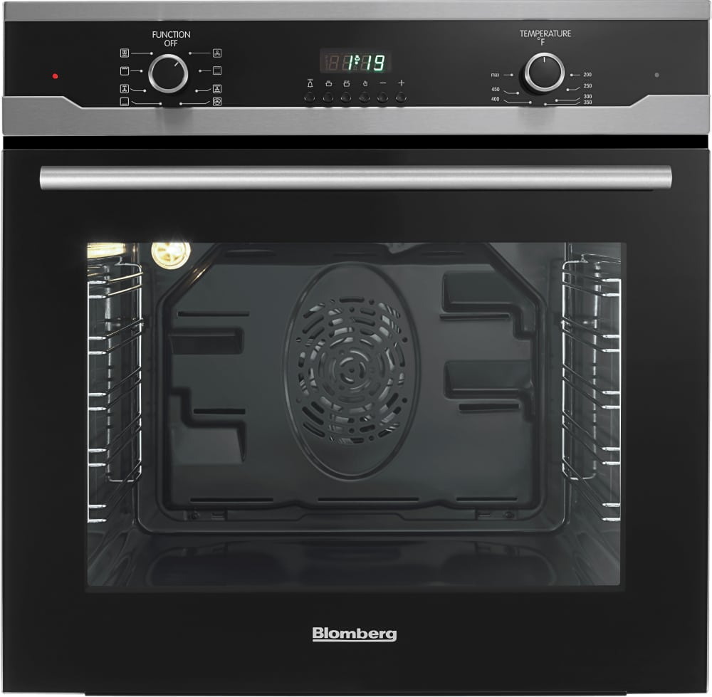 Electric Wall Oven 24 Inch Blomberg Bwos24202 23 1 2 Inch Single Electric Wall Oven With 23