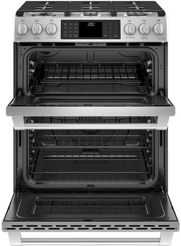 Ge C2s995selss 30 Inch Slide In Dual Fuel Range With