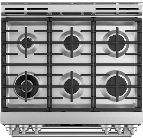 Cafe C2s995selss 30 Inch Slide In Dual Fuel Range With