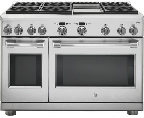 Ge C2y486sdlss 48 Inch Freestanding Dual Fuel Range With