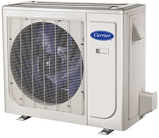 ... Carrier Performance Series MAQB09B1   Carrier High Wall Single Zone  Mini Split Air Conditioning System