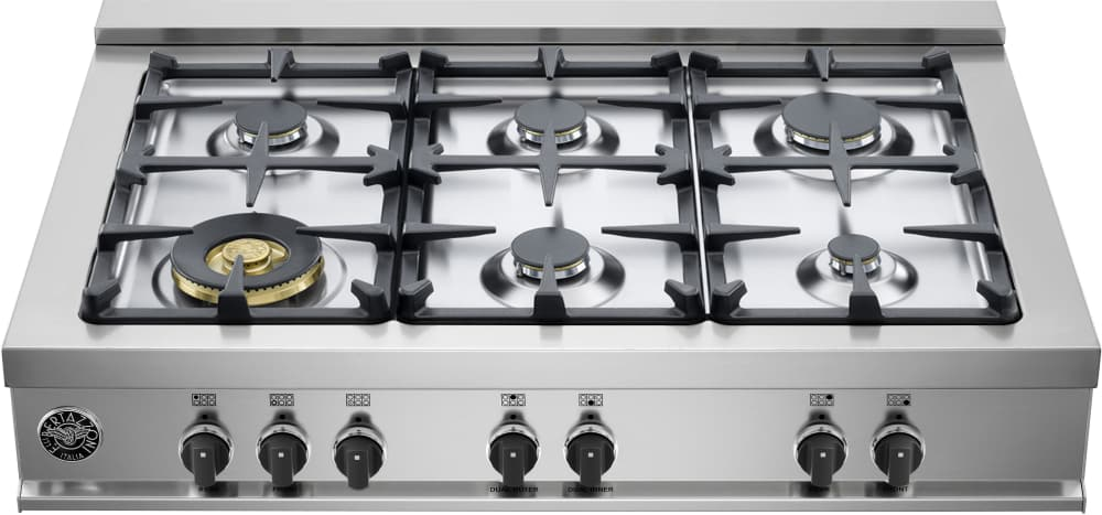 nxr 36 inch range with 6 dual ring burners