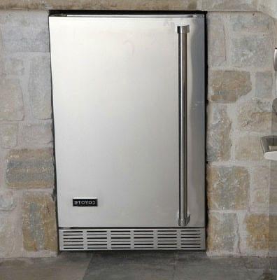 Coyote Cbirl 21 Inch Outdoor Refrigerator With 4 1 Cu Ft