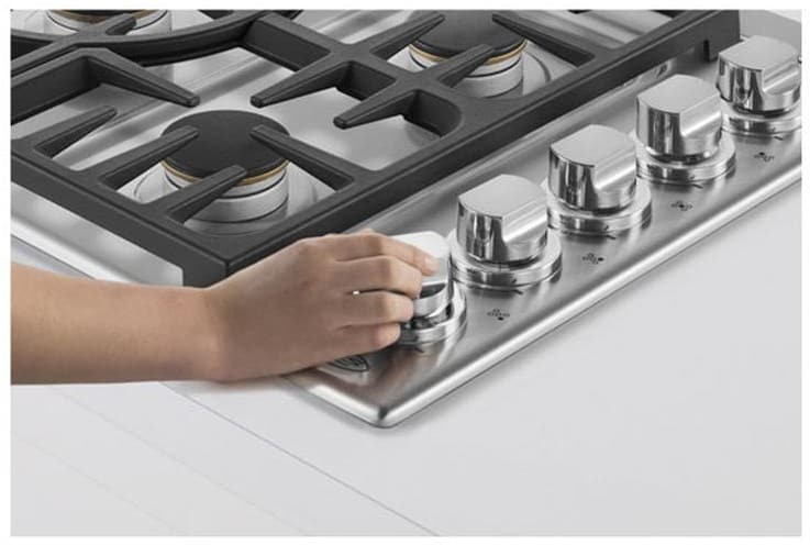 Dcs Cdv365n 36 Inch Gas Cooktop With 5 Sealed Burners