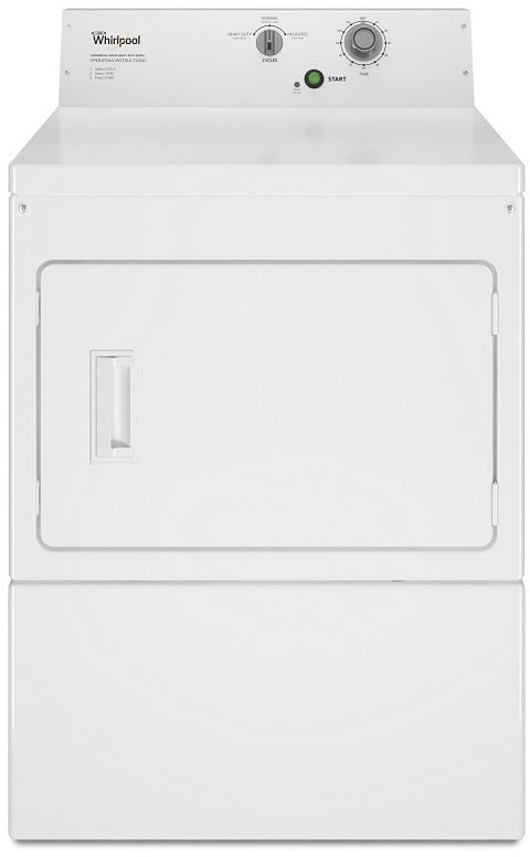 Whirlpool Cem2795fq 27 Inch Commercial Electric Dryer With