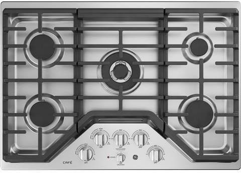 Ge Cgp9530slss 30 Inch Gas Cooktop With Control Lock