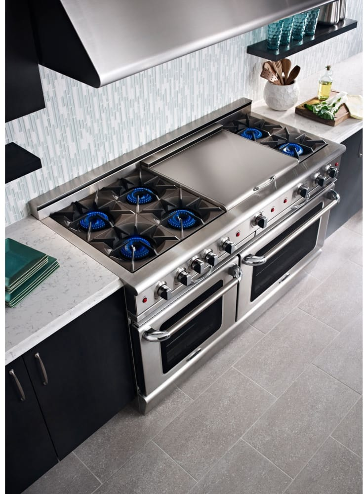 Capital Cgsr604bb2l 60 Inch Pro Style Gas Range With 6