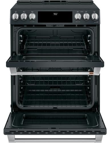 Cafe Chs950p3md1 30 Inch Slide In Double Oven Electric