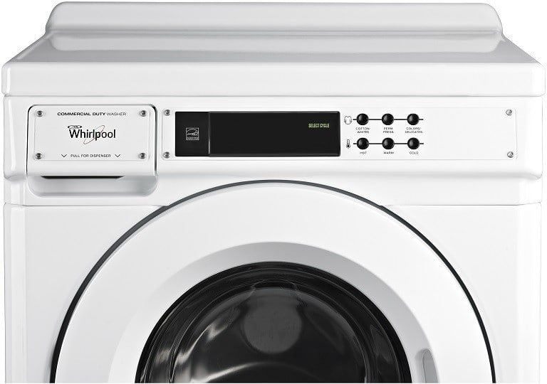 Whirlpool Chw9060aw 27 Inch Front Load Commercial Washer