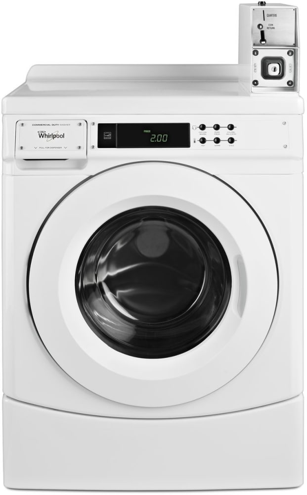 Whirlpool Chw9150gw 27 Inch Commercial Front Load Washer