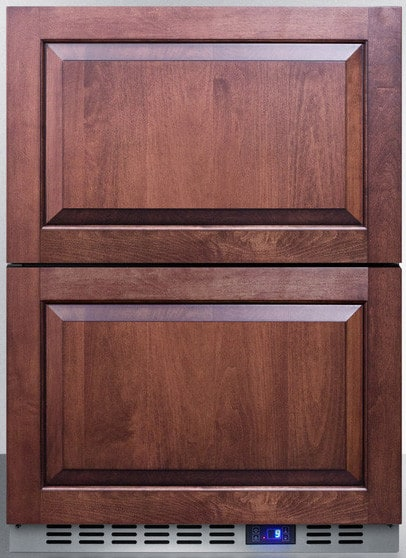 Summit Cl2r248 24 Inch Undercounter Double Drawer All