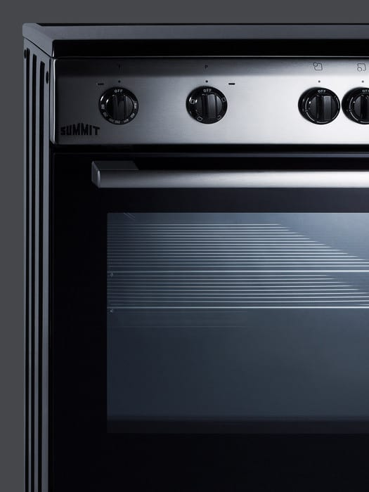 Summit Clre24 24 Inch Freestanding Electric Range With 4
