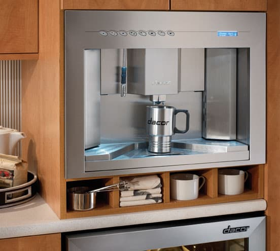 Smart Choice Auto >> Dacor CM24PS 24 Inch Built-In Coffee System with Adjustable Height Dispenser and Direct Water ...
