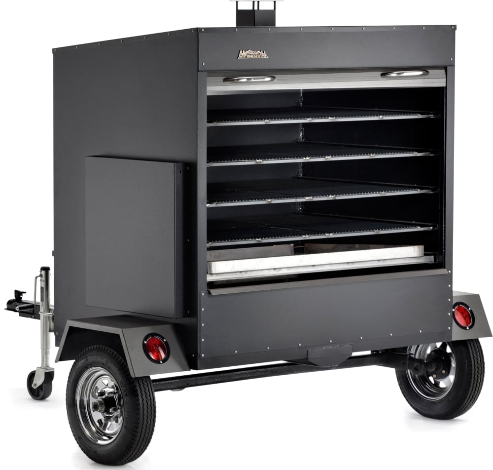 traeger com200 large commercial trailer wood pellet grill - Wood Pellet Grill