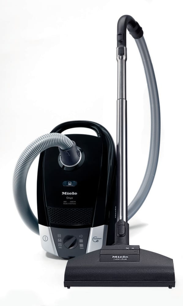 miele 41dae031usa c2 compact onyx canister vacuum cleaner with 6 variable power settings