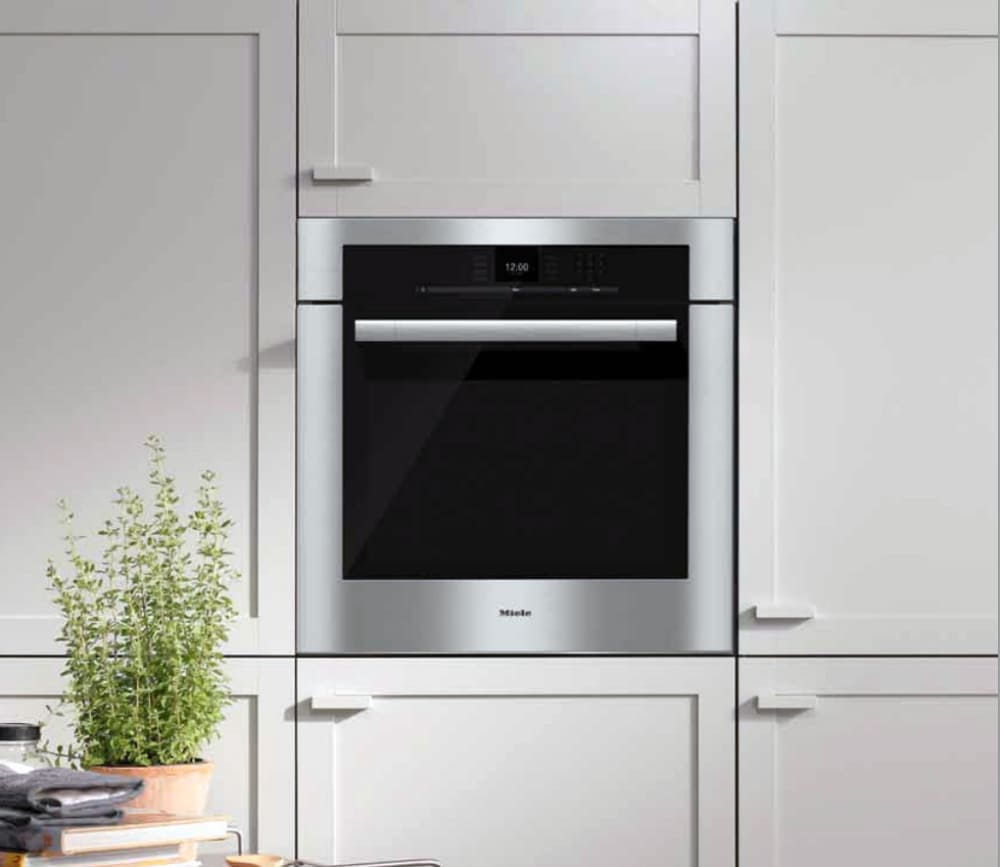 Miele H6580bp 30 Inch Single Electric Oven With 4 6 Cu Ft