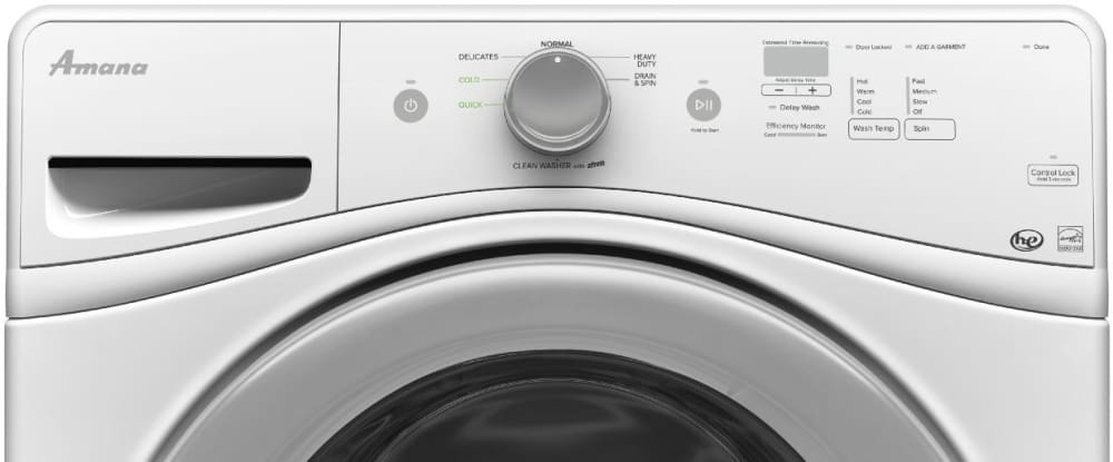 Amana Nfw5800dw 27 Inch Front Load Washer With 4 2