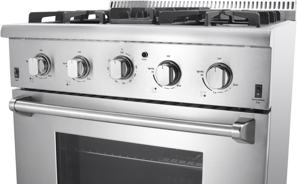 Thor Kitchen Hrg3026u 30 Inch Freestanding Gas Range With
