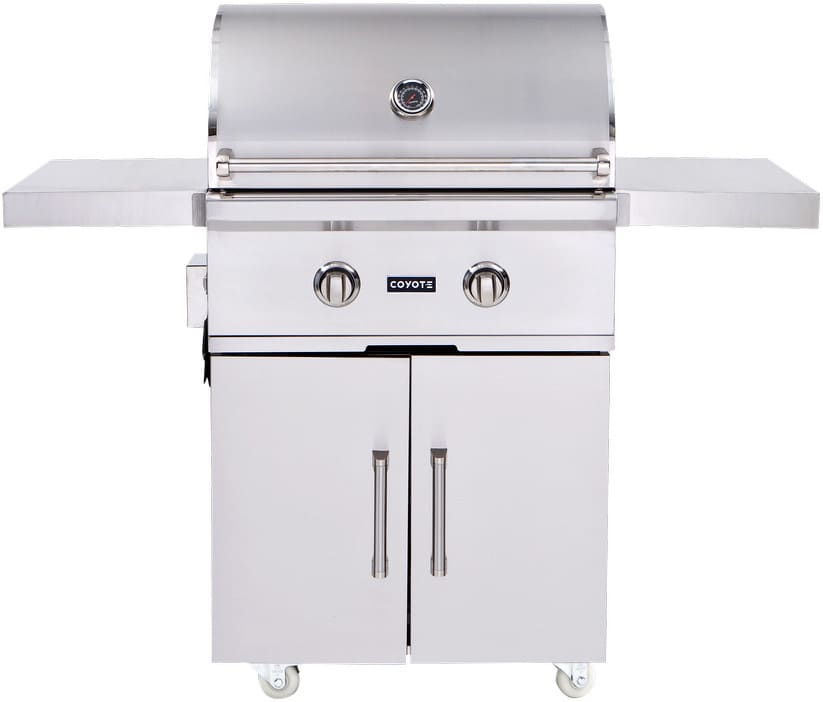 Coyote ccx2ngfs 57 inch freestanding gas grill with 640 sq for Coyote outdoor grills reviews