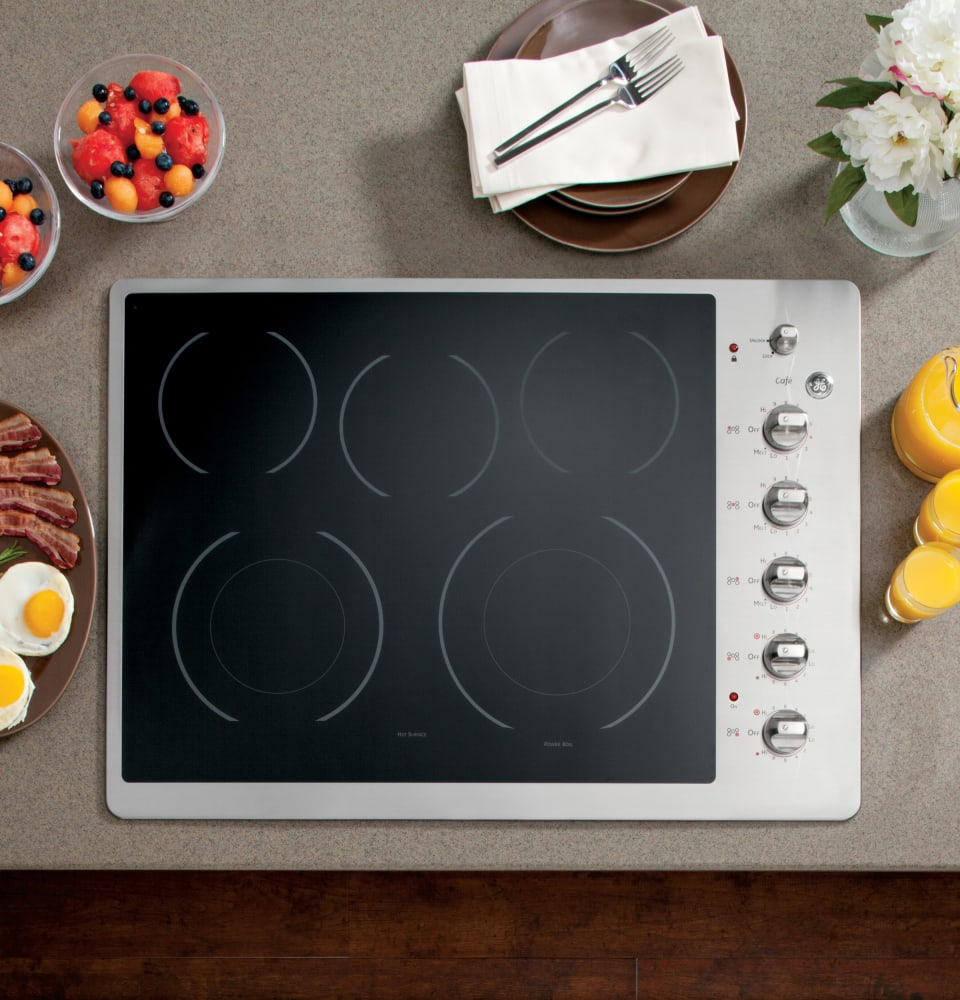 Cafe Cp350stss 30 Inch Smoothtop Electric Cooktop With 5
