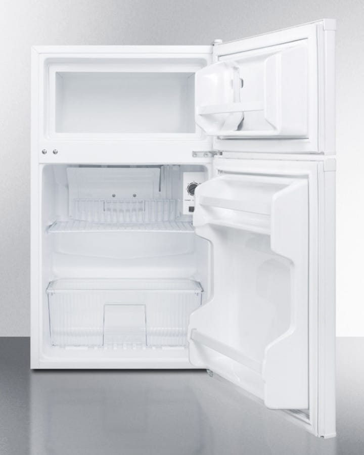 Summit CP351W 19 Inch Top-Freezer Compact Refrigerator with 3.0 cu ...