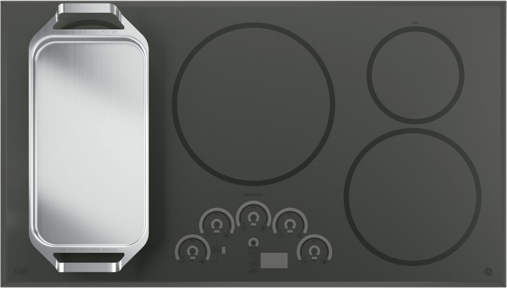 Induction Ge Cafe Series Chp9536sjss Included Is A Griddle Accessory