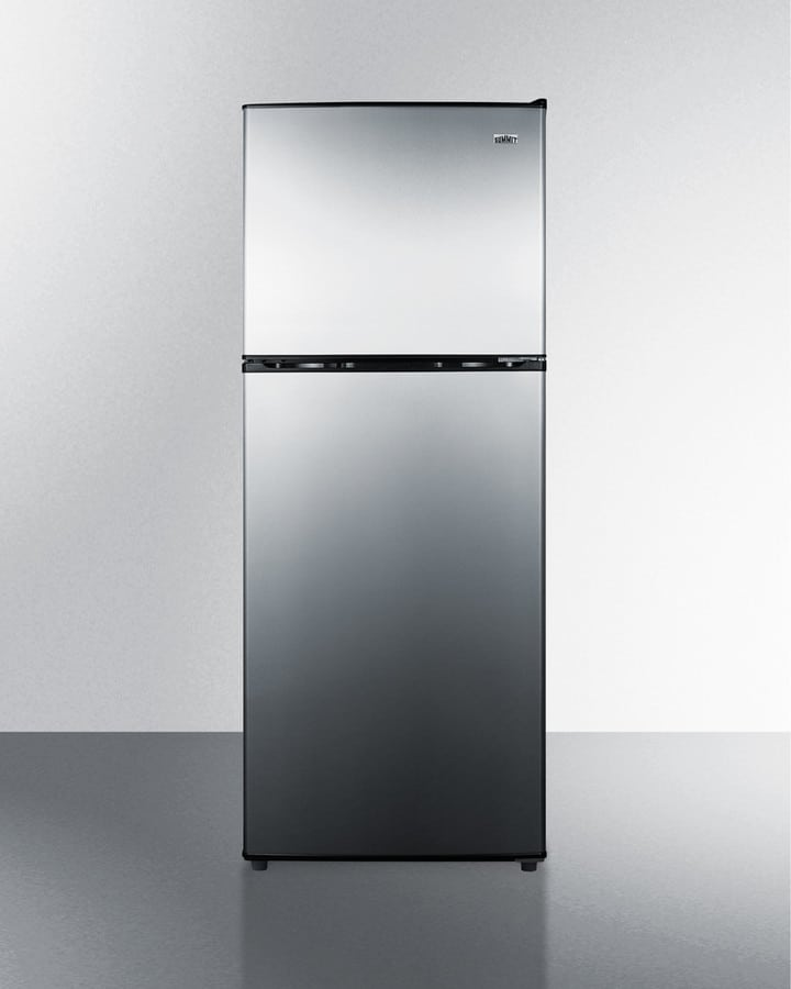 summit cp972ss 22 inch counter depth top freezer refrigerator with thin line design adjustable. Black Bedroom Furniture Sets. Home Design Ideas