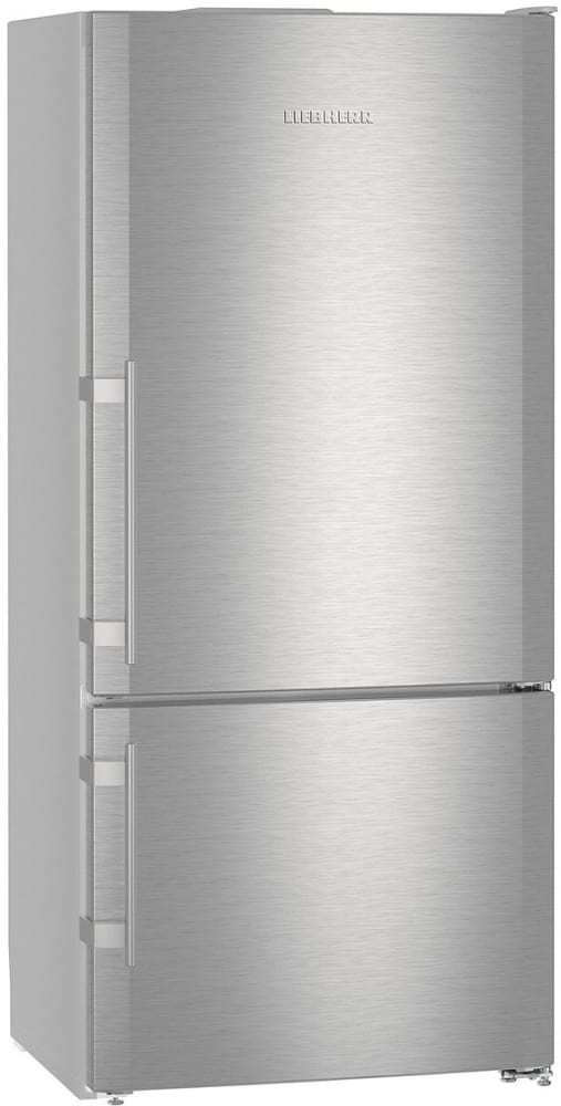 Liebherr Cs1401rim 30 Inch Counter Depth Bottom Freezer Refrigerator With Duocooling Smartsteel Construction Ice Maker Supercool Led Lighting Height Adjustable Glass Shelving Two Vegetable Drawers Softsystem Energy Star And 12 8 Cu Ft Capacity