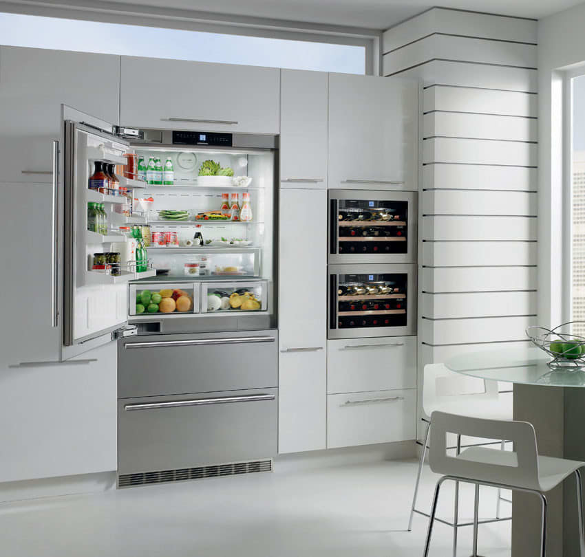 Liebherr Cs2061 36 Inch Counter Depth Bottom Freezer With 20 Cu Ft