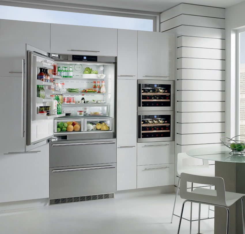 liebherr cs206 36 inch counter depth with 20 cu ft capacity adjustable glass shelves gallon door storage fullwidth deli drawer - Counter Depth