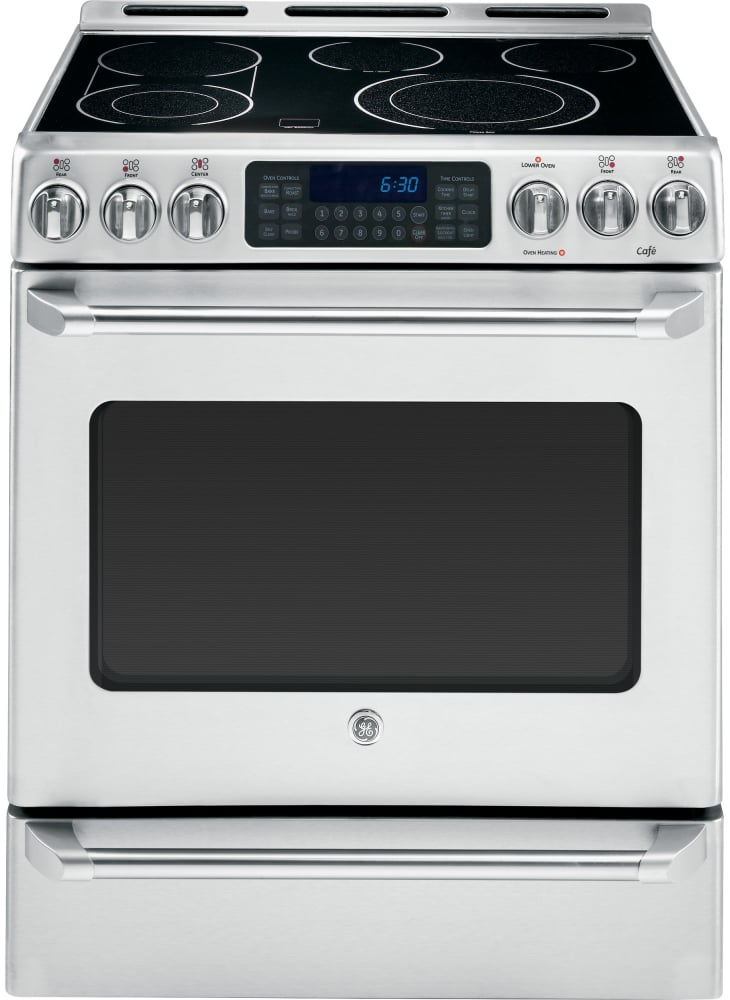 Ge Cs980stss 30 Inch Slide In Electric Range With True
