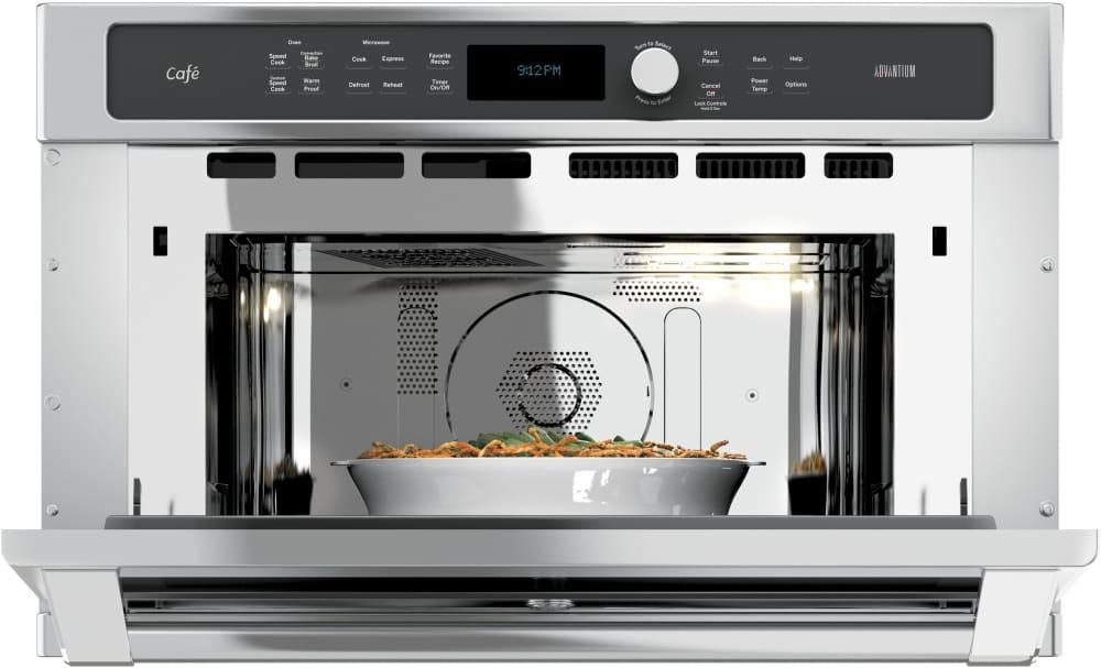 Ge Csb9120sjss 30 Inch Single Electric Speed Oven With 1 7