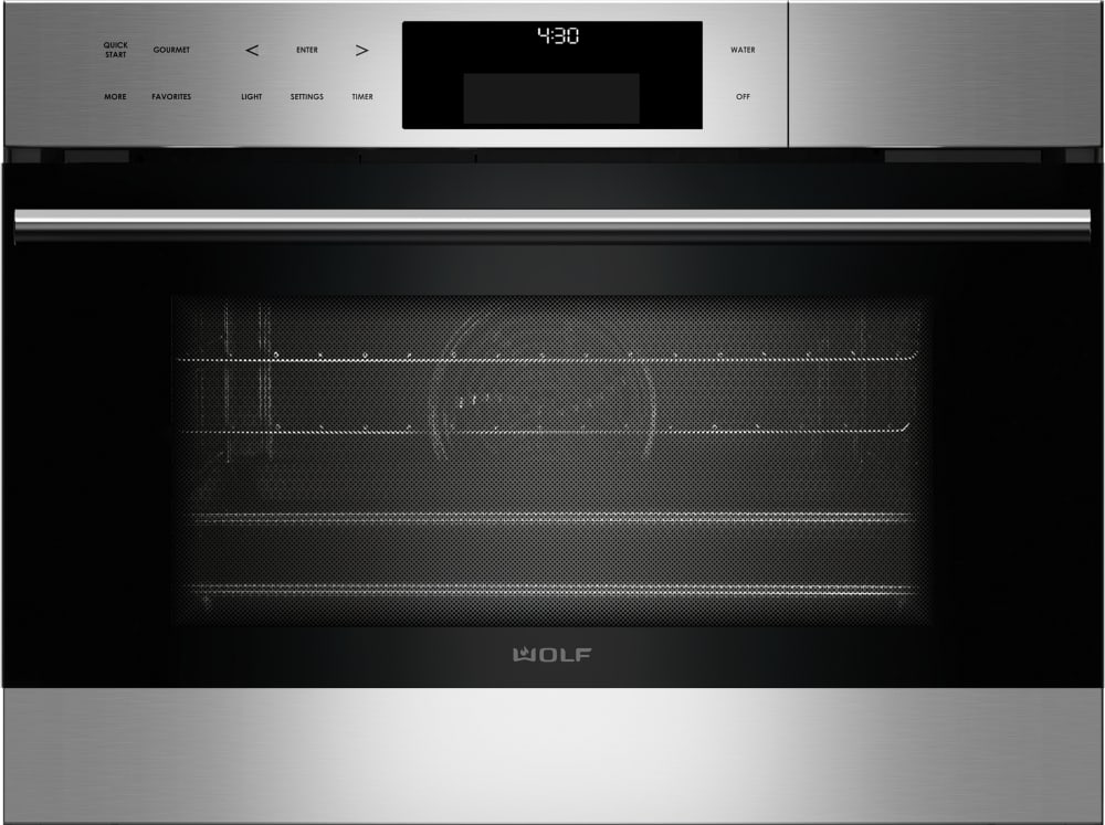 Wolf Cso24testh 24 Inch Steam Oven With 1 8 Cu Ft