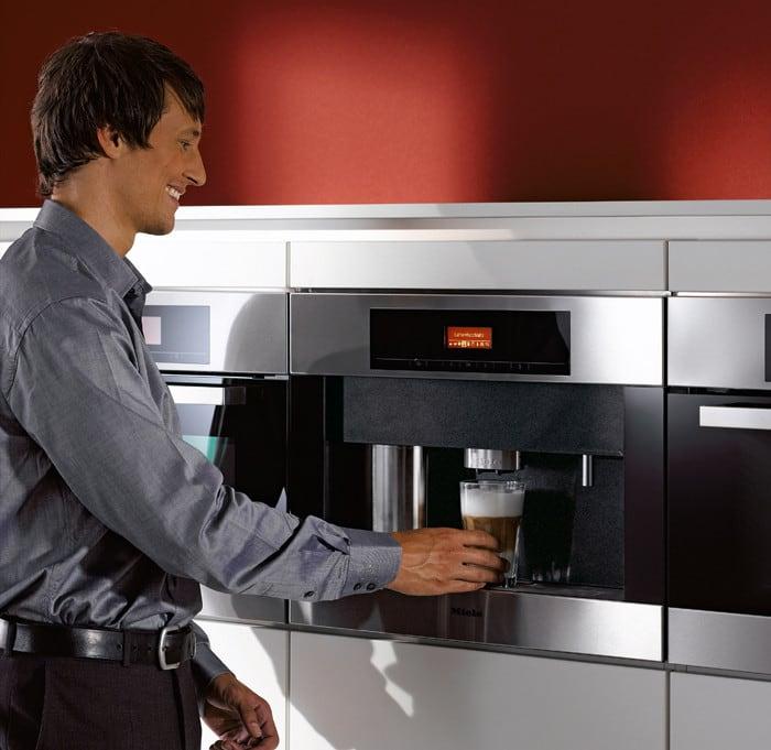 Miele Cva4066ssl 24 Inch Built In Whole Coffee Bean System