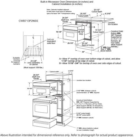 1 7 Cu Ft Built In Microwave Oven