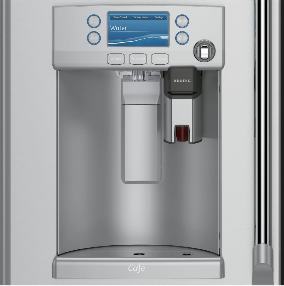 Cye22ushss Ge Keurig Refrigerator With K Cup Coffee Brewing