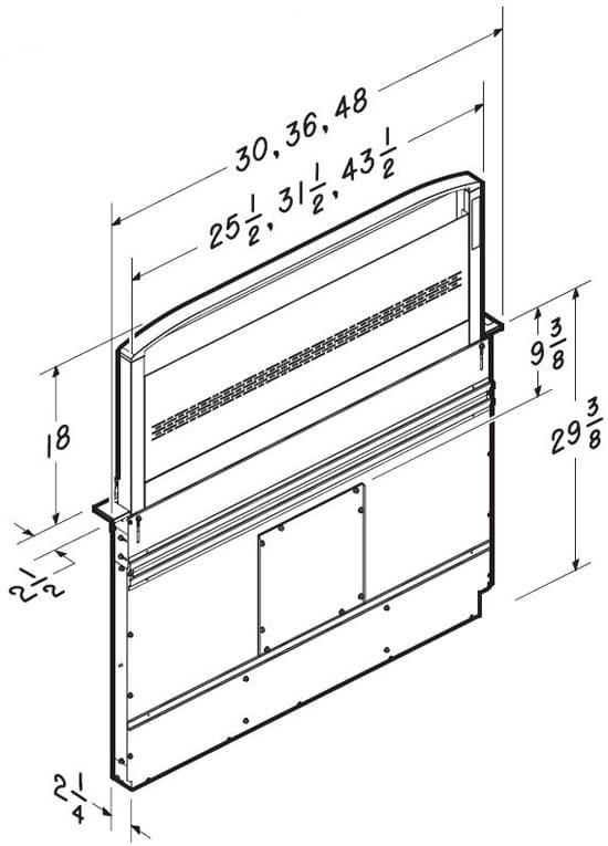 Best D49m36sb 36 Inch Downdraft Ventilation With 18 Inch