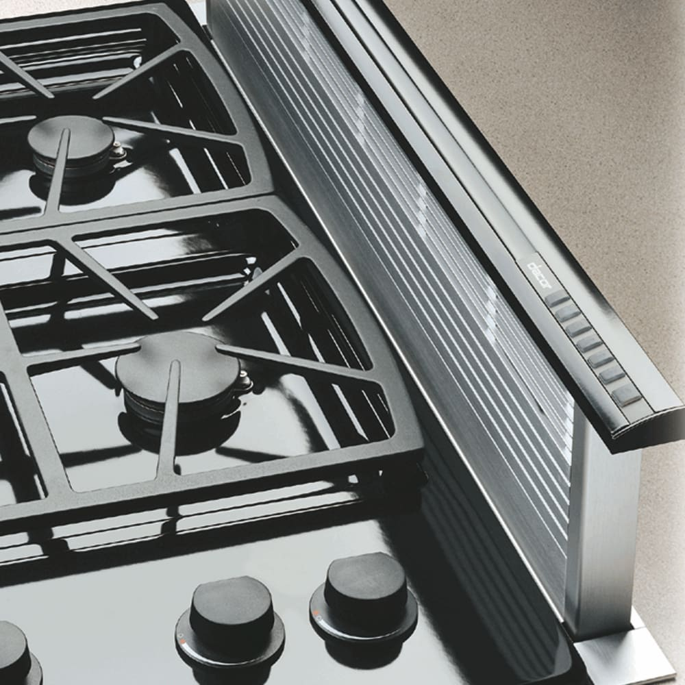 Viking Gas Cooktop >> Dacor RV46S 46 Inch Raised Vent with Multiple Blower ...