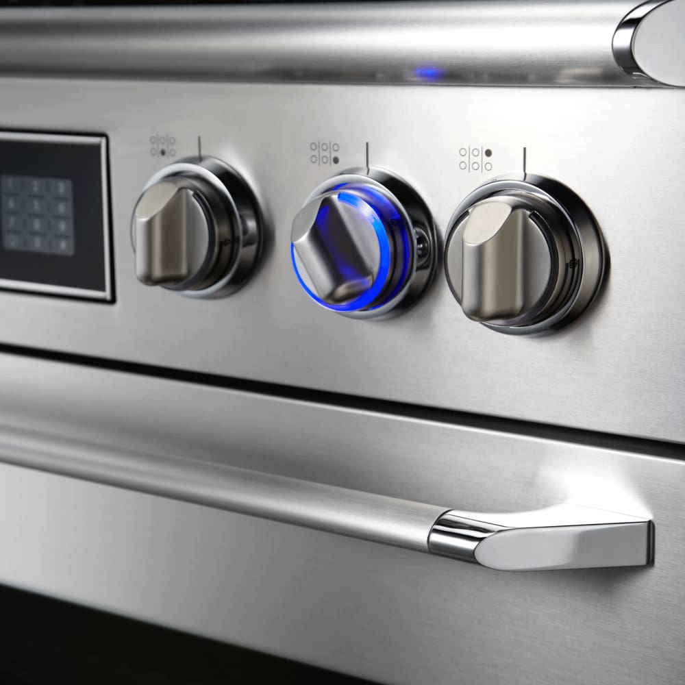 dacor er48dschlp 48 inch dualfuel range with 46 cu ft primary oven capacity w broil element 6 sealed burners btu
