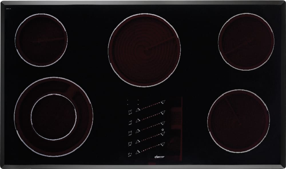 Dacor ett3652s 36 inch smoothtop electric cooktop with 5 for Dacor cooktop