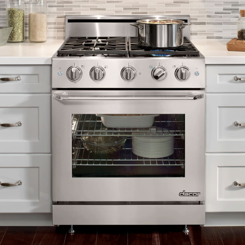 Dacor Dr30gs 30 Inch Freestanding Gas Range With 4 8 Cu