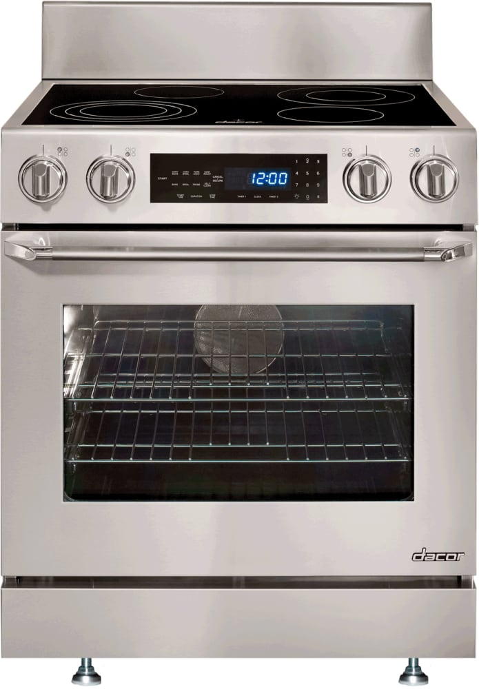 Dacor Distinctive Dr30eis Slide In Electric Range With Epicure Handle