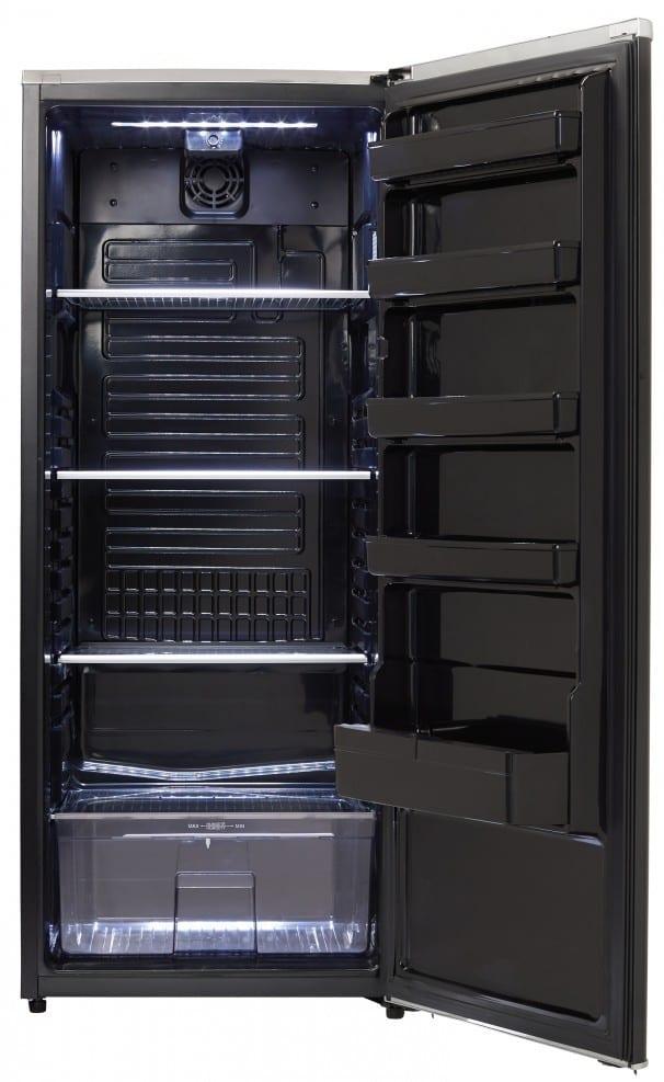 Danby DAR110A2MDB 24 Inch All-Refrigerator with 11.0 cu. ft ...