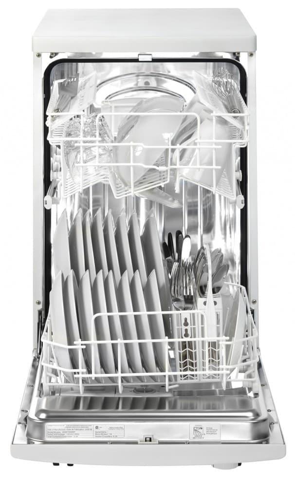 Danby Ddw1801mwp 18 Inch Full Console Portable Dishwasher