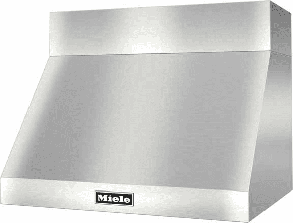 Miele Dar1220 Pro Style Wall Mount Canopy Range Hood With