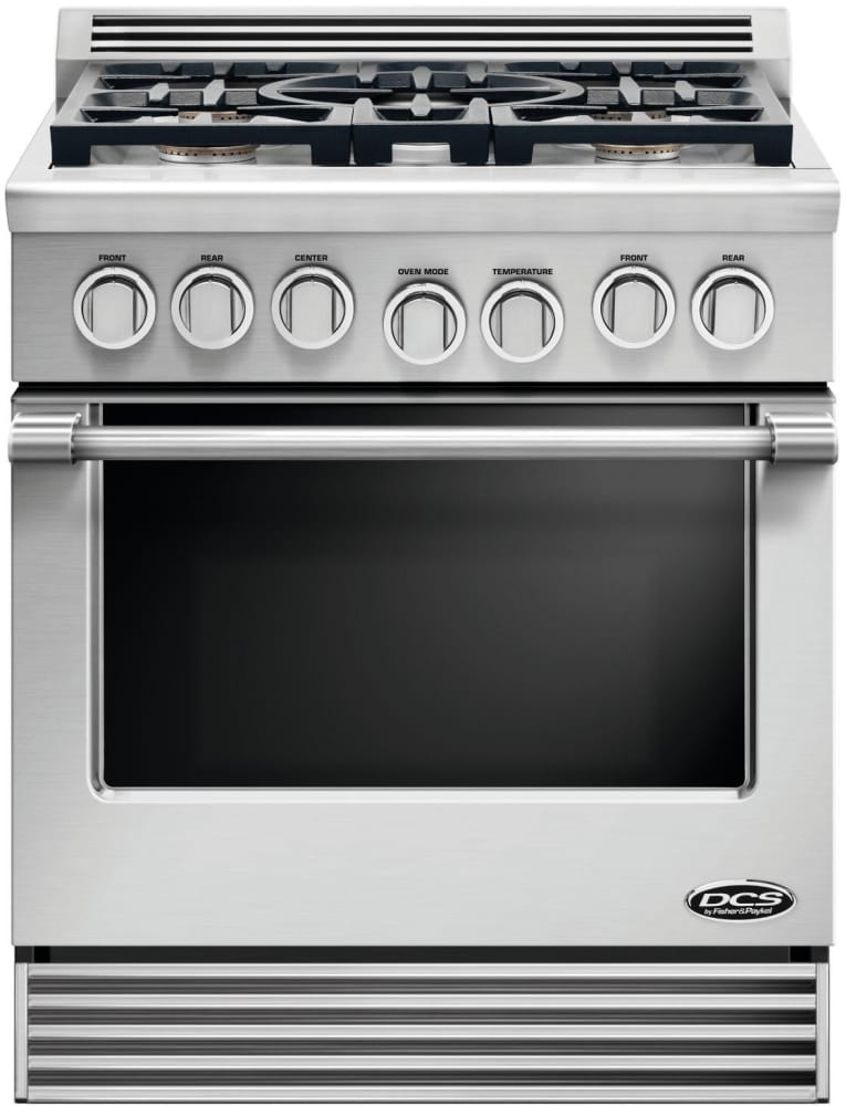 gas range 6 burner cooktop single conventional oven commercial with griddle