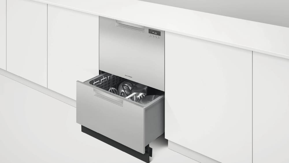 ... Fisher U0026 Paykel DishDrawer Series DD24DCHTX9N   Lifestyle View