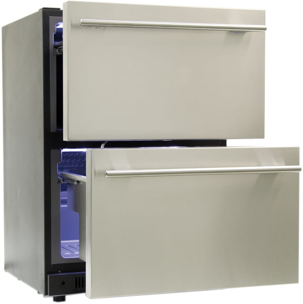 Haier Dd400rs 24 Inch Built In Refrigerator Drawers With 5