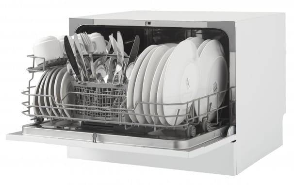 Danby Ddw621wdb Full Console Countertop Dishwasher With 6